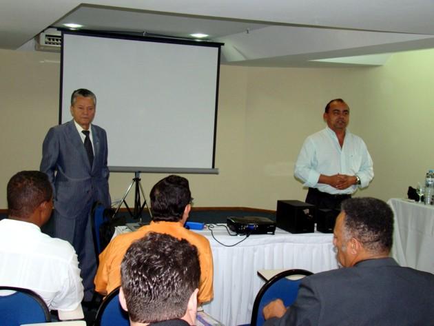 """"""".Antonio Rocha - Pres.Sindimóveis e Luiz Severino - Diretor Geral."""""""